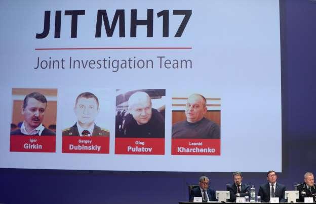 Acusados Del Derribo Del MH17 Tres Militares Vinculados Con La Inteligencia Rusa Y Un Ucranio