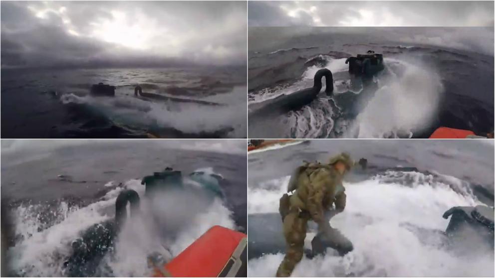 Detenido Un Narcosubmarino Tras Una Espectacular Persecución En Alta Mar