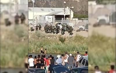 Patrulla Fronteriza Dispara Contra Nadadores En El Río Bravo