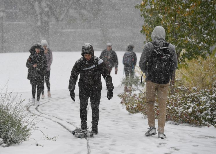 Denver Registra Una Caída De Temperatura De 70 Grados En 34 Horas