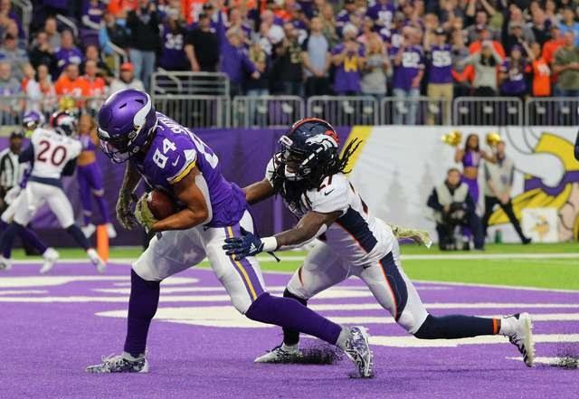 Vikingos Remontan Y Vencen 27-23 A Broncos De Denver