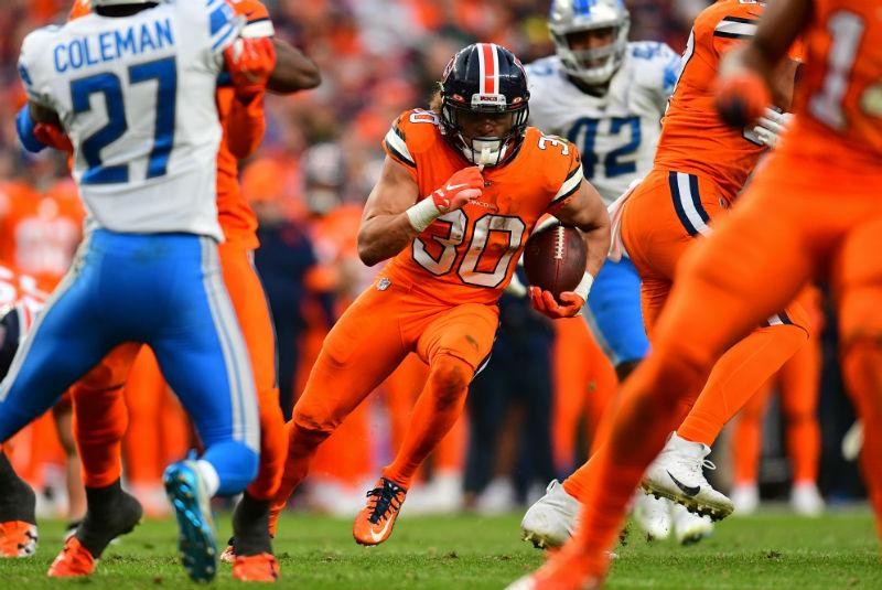 Broncos De Denver Arrolla 27-17 A Leones De Detroit