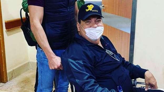 Julio Preciado Sale Del Hospital Y Agradece A Dios, A Su Hija Y A Los Doctores