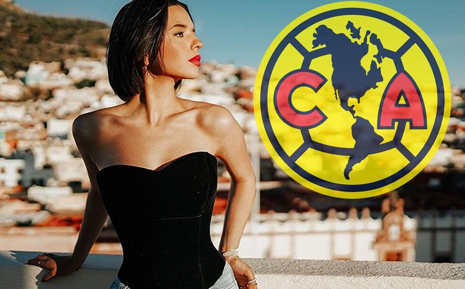Angela Aguilar Canta Himno Del América Y Conquista Con Su Voz