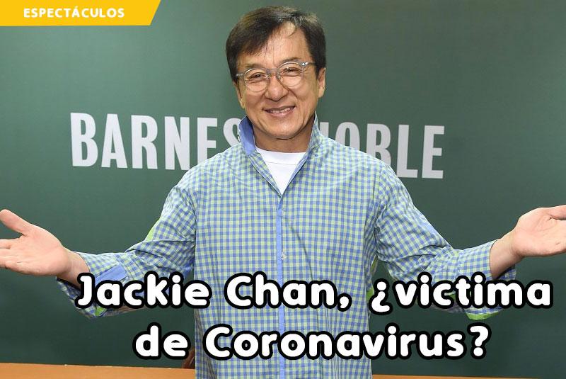 Jackie Chan Podría Estar En Cuarentena, Víctima Del Coronavirus