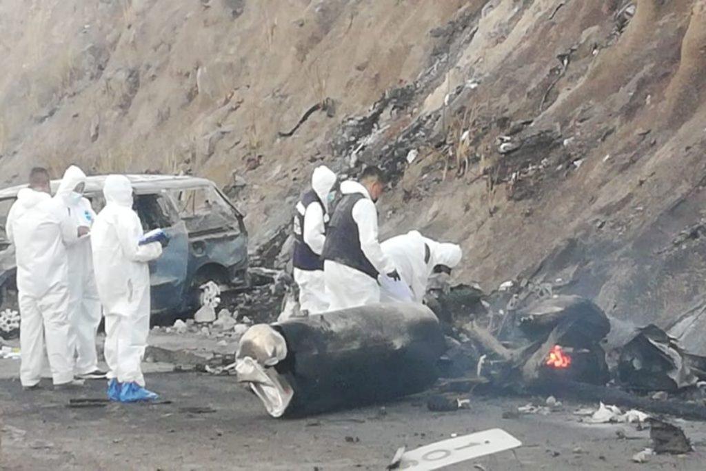 México: 14 Muertos En Accidente Con Camión Que Llevaba Gas