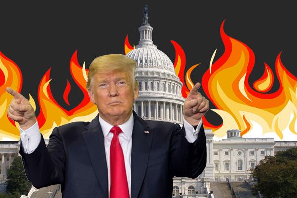 Cámara Baja Vota Por Llevar A Trump A Juicio Político
